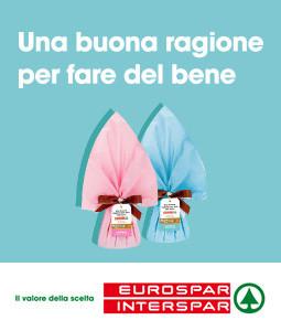 Fino a Pasqua acquista una campana di cioccolato nei tuoi Eurospar e Interspar