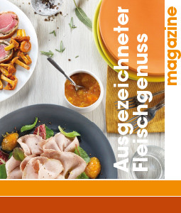 Ausgezeichneter  Fleischgenuss magazine