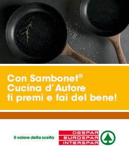 Abbiamo deciso di prorogare il termine dell'operazione a premi Sambonet® Cucina d'Autore!