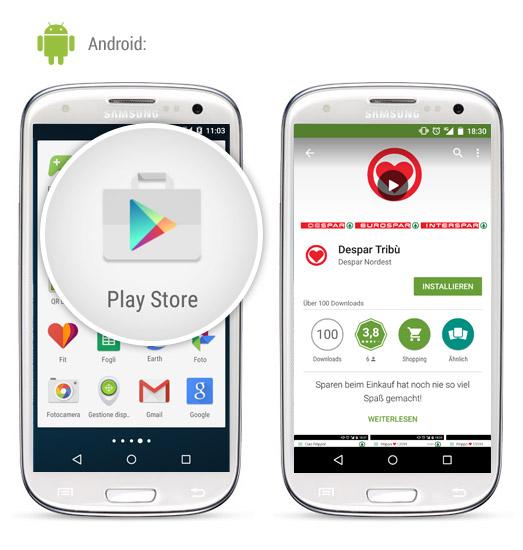 Installationsanleitung zur APP Android