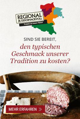 Sind sie bereit, den typischen Geschmack unserer Tradition zu kosten?