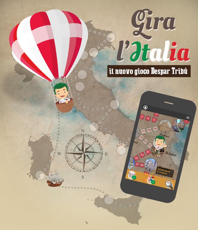 Gioco - Gira l'Italia
