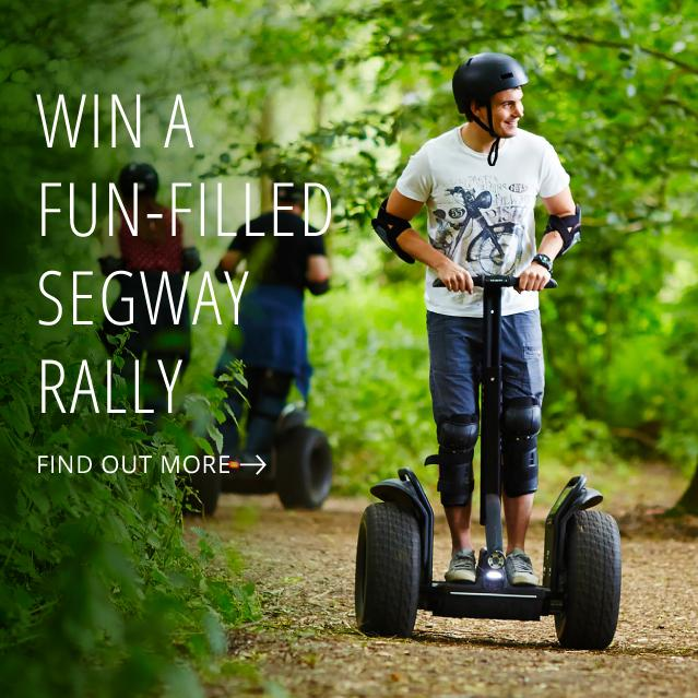 Win a Segway Rally Thrill adventure