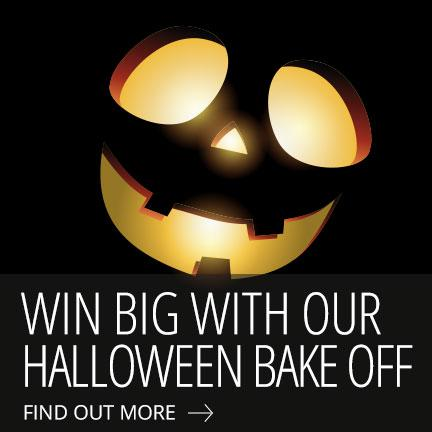 Win £100 with our Halloween Bake Off