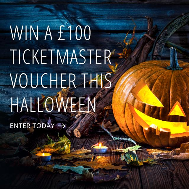 Win a £100 voucher this Halloween