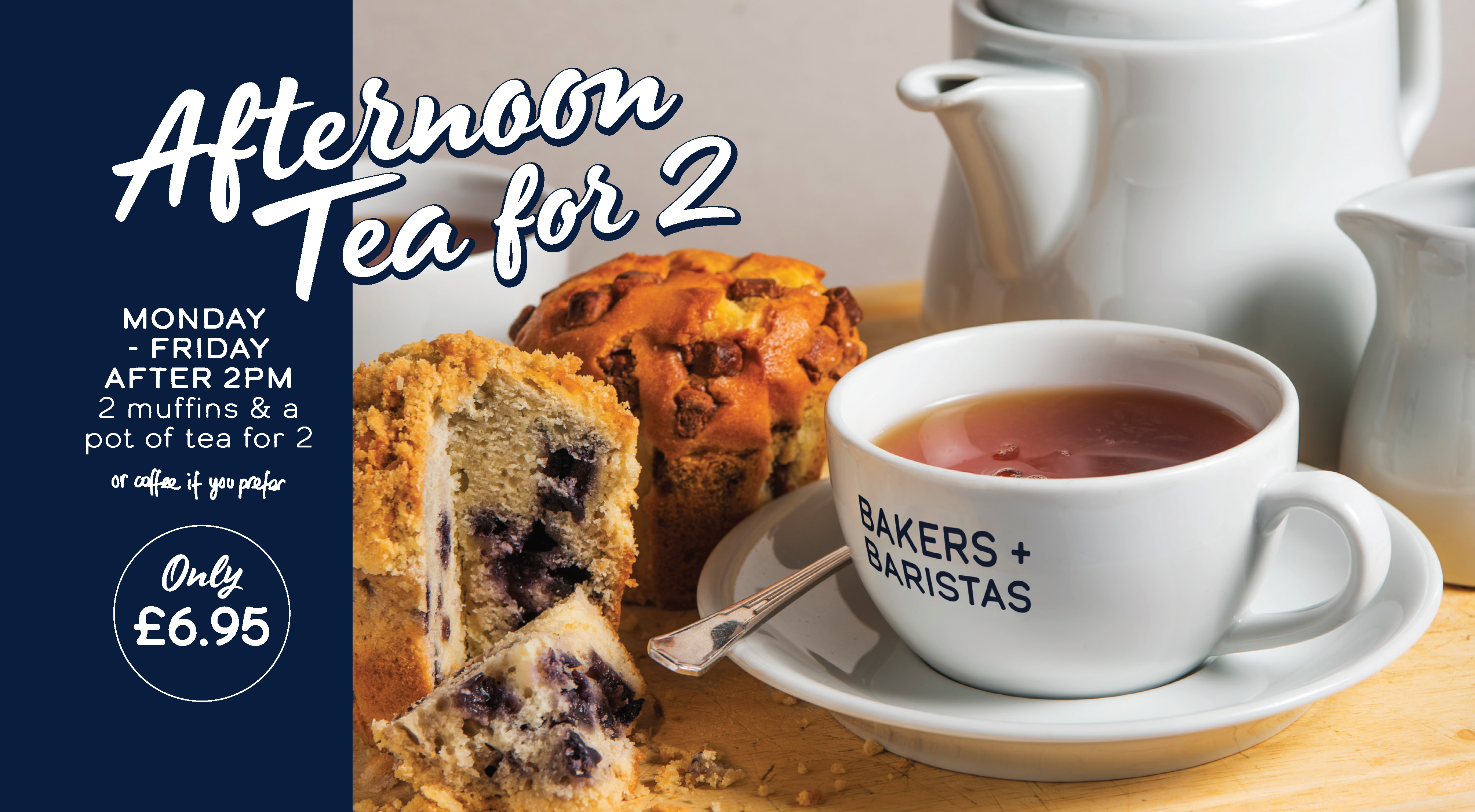 Spring Afternoon Tea offer
