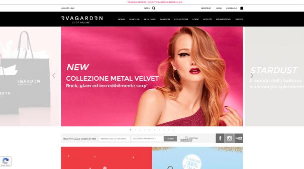 Evagarden homepage