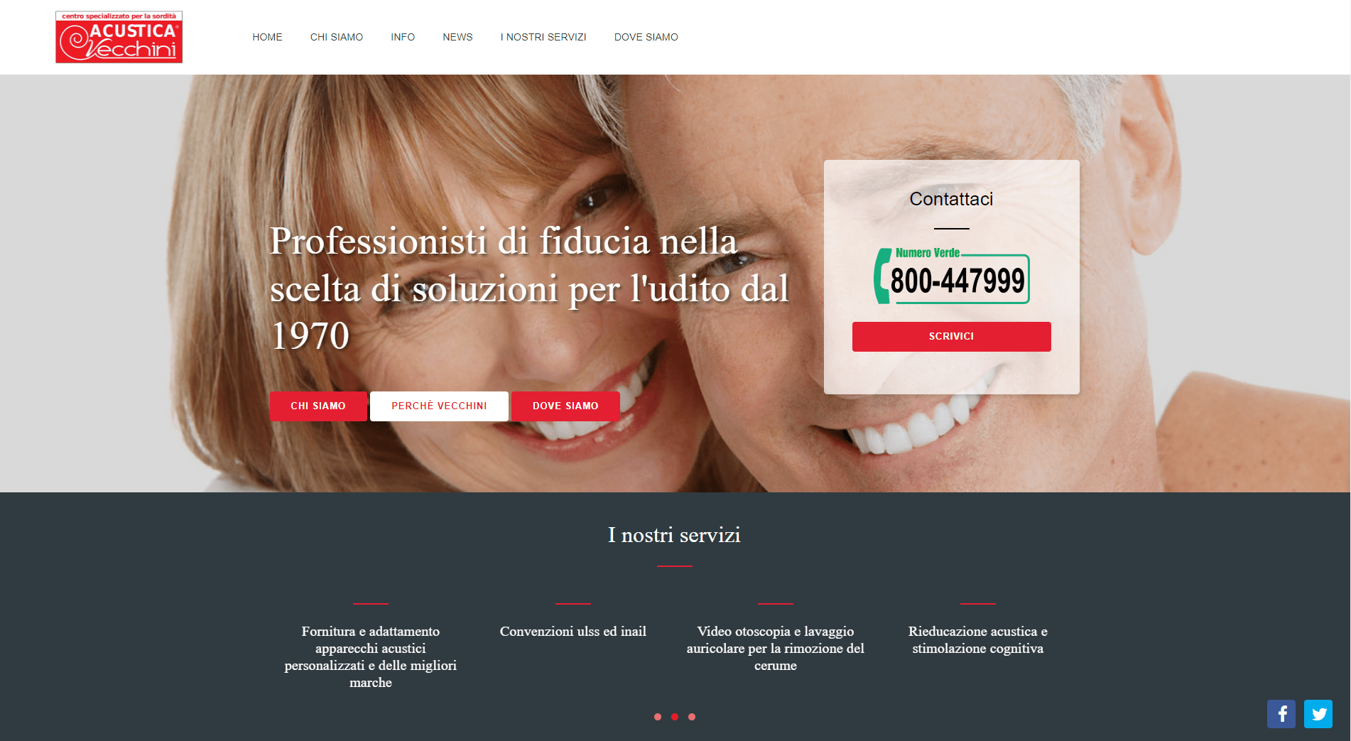 Vecchini homepage
