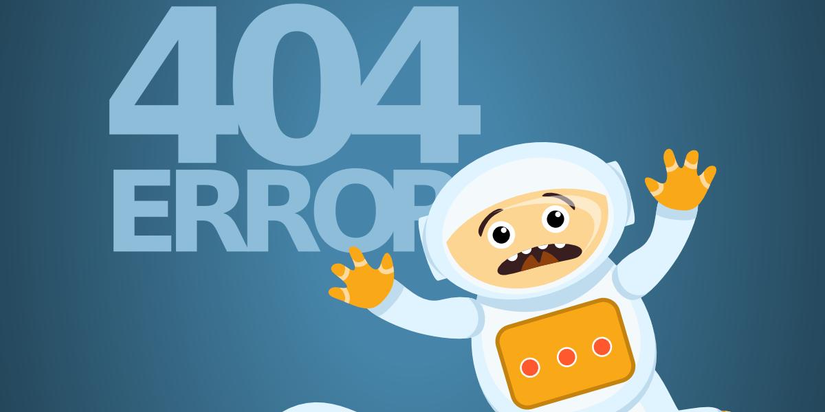 Le 6 migliori pagine di errore 404