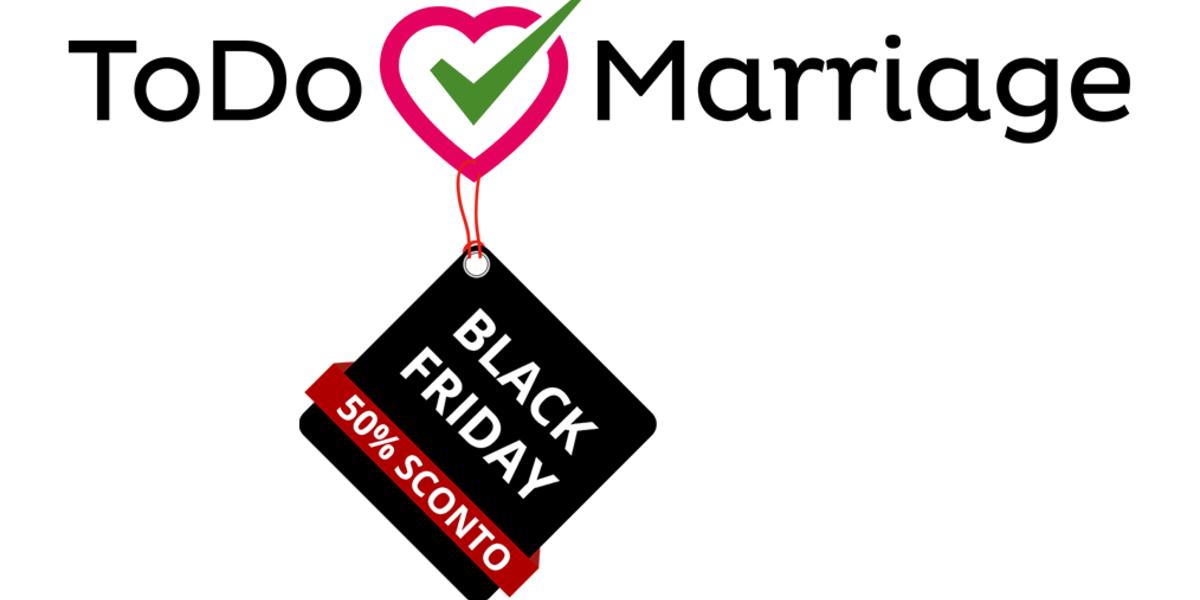 ToDo Marriage e il Black Friday: un video per la promozione delle nostre liste nozze online