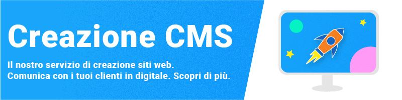 servizio di creazione siti web