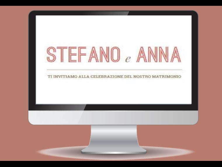 Stefano e Anna Sposi