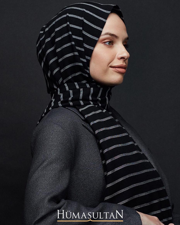 Mio Bold Şal Siyah