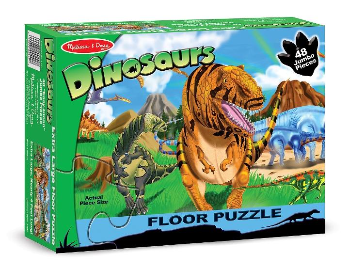 Dev Yer Yapbozu- Dinozor Dünyası (48 parça)
