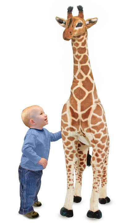 Dev Peluş Zürafa