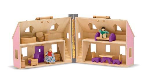Ahşap Taşınabilir Küçük Mobilyalı Ev