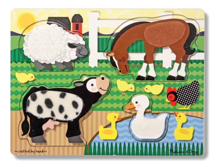 Dokun Hisset Yapboz - Çiftlik Hayvanları