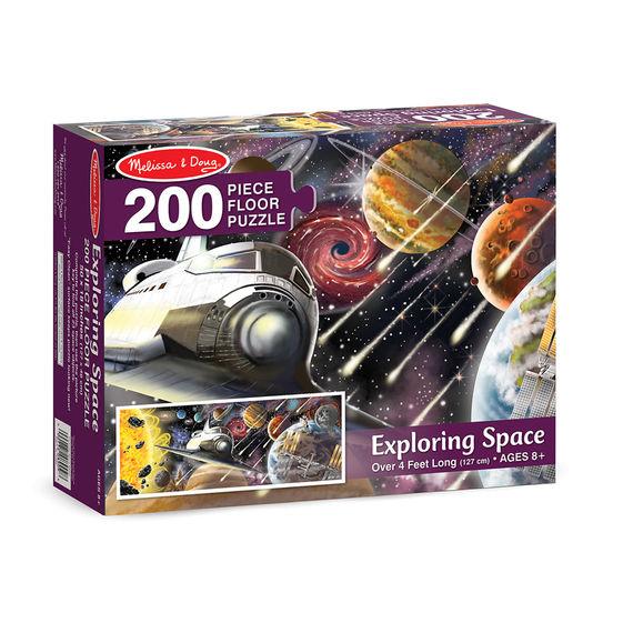 Dev Yer Yapbozu- Uzay Keşfi (200 parça)