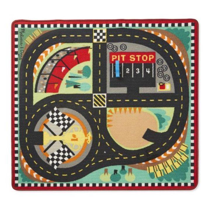 Oyun Halı Seti - Yarış Arabaları