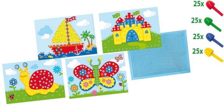 Mozaik Pano - Kartlı