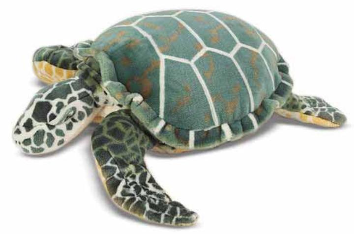Dev Peluş Deniz Kaplumbağası