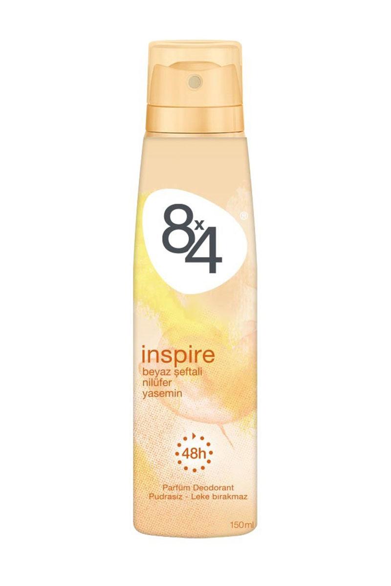 8X4 INSPIRE DEOD. 150 ML