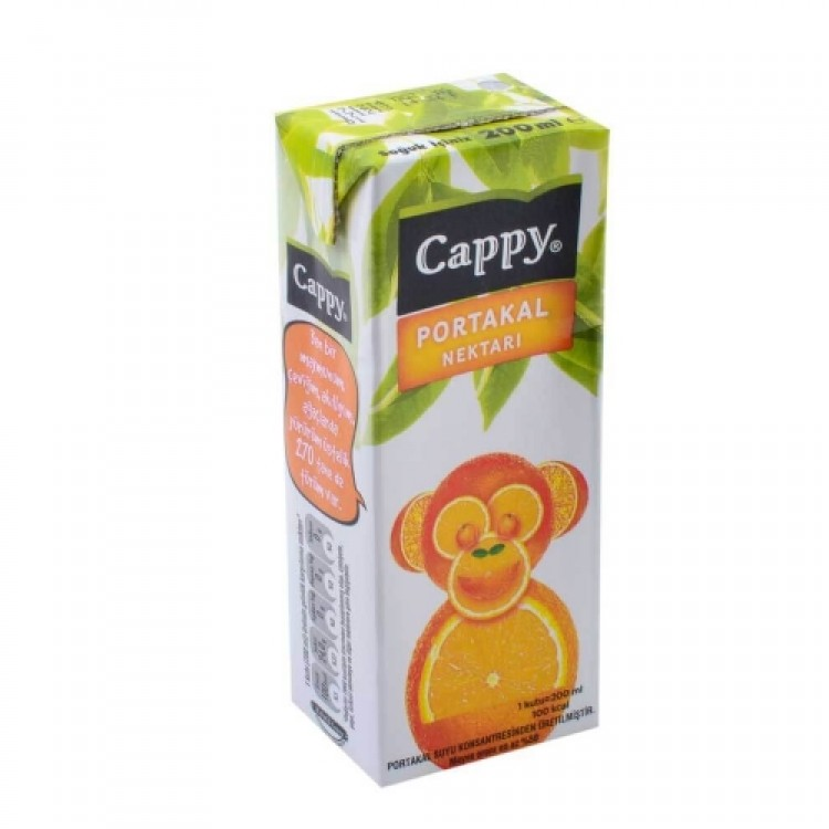 CAPPY PORTAKAL 200 ML