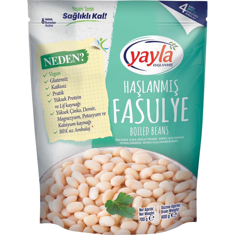 YAYLA HASLANMIS FASULYE 700 GR