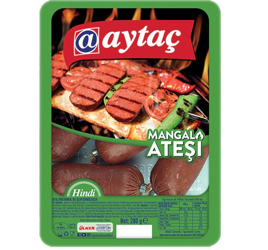 AYTAC HINDI MANGAL SUCUK 280 GR