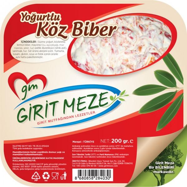 GIRIT MEZE KOZ BIBER