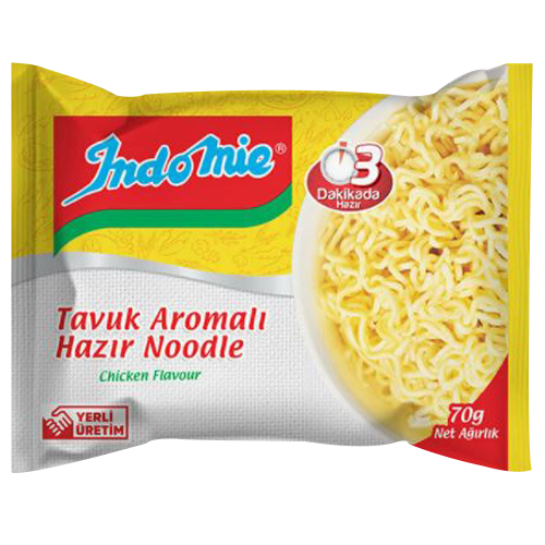 INDO MIE TAVUK AROMALI HAZIR NOODLE  75 GR