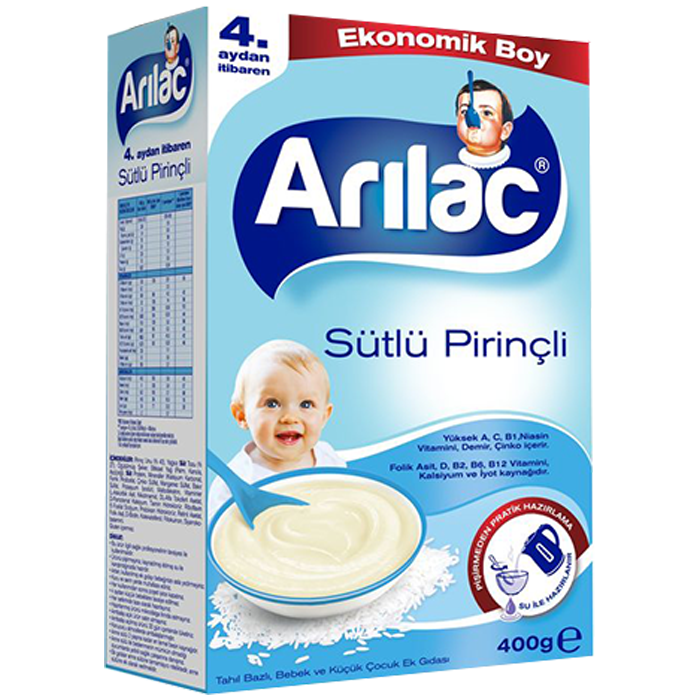 ARILAC SUTLU PIRINCLI 400 GR