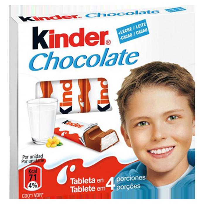 KINDER CHOCOLATE 50 GR