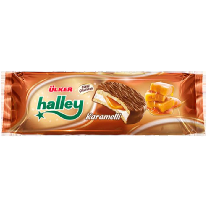 ULKER HALLEY KARAMELLI 236 GR