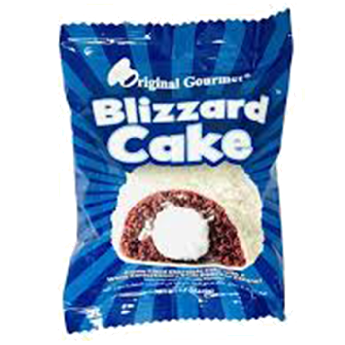 ORIGINAL GOURMET BLIZZARD CAKE 50 GR