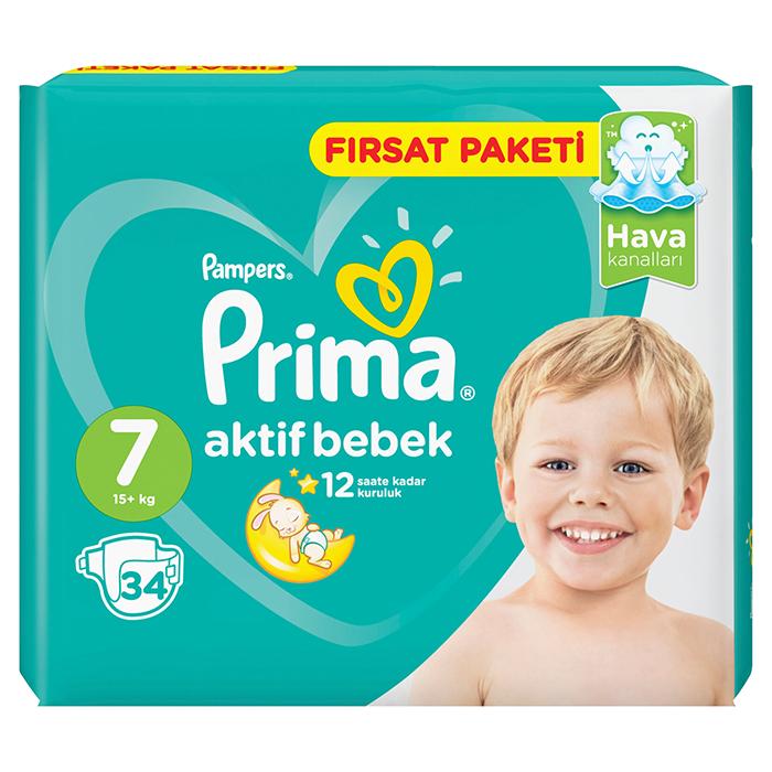 PRIMA AKTIF BEBEK NO 7+ 15KG 34 AD