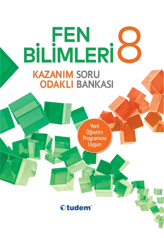 TUDEM 8.SINIF FEN BİLİMLERİ KAZANIM ODAKLI SORU BANKASI YENİ