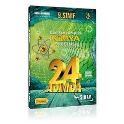 SINAV 9.SINIF KİMYA 24 ADIMDA SORU BANKASI YENİ