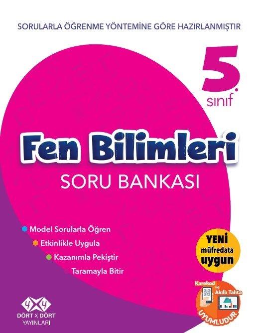 4X4 5.SINIF FEN BİLİMLERİ S.B YENİ 2018