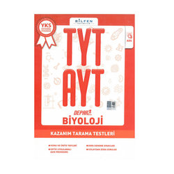 BİLFEN TYT - AYT BİYOLOJİ DEPAR KAZANIM TARAMA TESTLERİ YENİ 2018