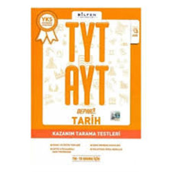 BİLFEN TYT - AYT TARİH DEPAR KAZANIM TARAMA TESTLERİ YENİ 2019