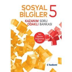 TUDEM 5.SINIF SOSYAL BİLGİLER KAZANIM ODAKLI SORU BANKASI YENİ