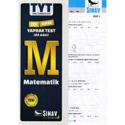 SINAV TYT TEMEL MATEMATİK POŞET YAPRAK TEST 80 TEST YENİ