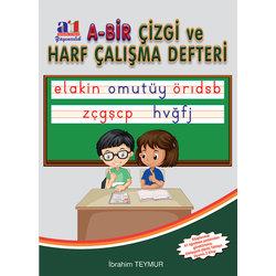 A1 1.SINIF HARF ÇALIŞMA DEFTERİ YENİ 2018