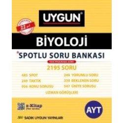 SADIK UYGUN 12.SINIF AYT SPOTLU BİYOLOJİ SORU BANKASI YENİ 2018
