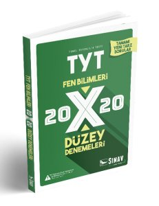 SINAV TYT 20X20 FEN BİLİMLERİ DENEME YENİ 2018