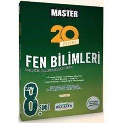 OKYANUS 8.SINIF MASTER FEN BİLİMLERİ 20'L DENEME YENİ 2018