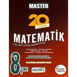 OKYANUS 8.SINIF MASTER MATEMATİK 20'Lİ DENEME YENİ 2018