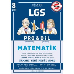 BİLFEN 8.SINIF MATEMATİK PRO & BİL S.B.