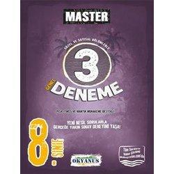OKYANUS 8.SINIF MASTER 3'LÜ DENEME